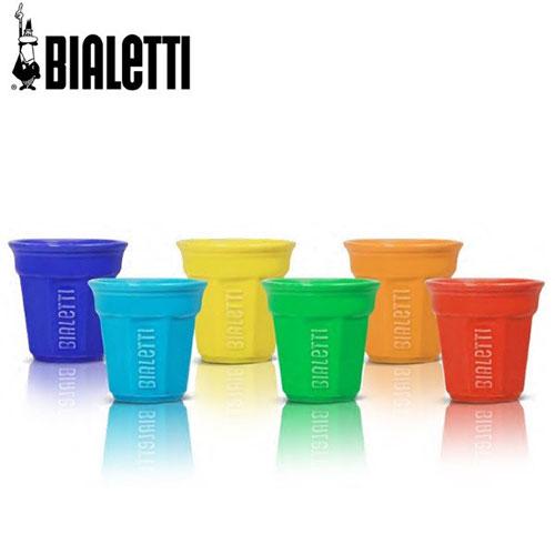 Bialetti Bicchierini espressobekers gekleurd