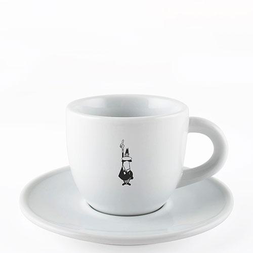Bialetti Cappuccino kop en schotel