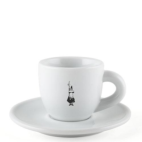 Bialetti Koffie kop en schotel