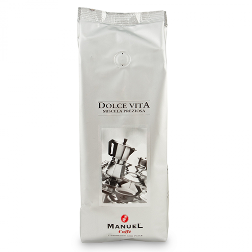 Manuel Caffe Dolce Vita koffiebonen 500g