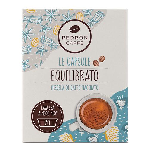 Pedron Caffe Equilibrato capsules voor Lavazza A Modo Mio