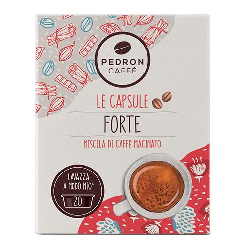 Pedron Caffe Forte capsules voor Lavazza A Modo Mio