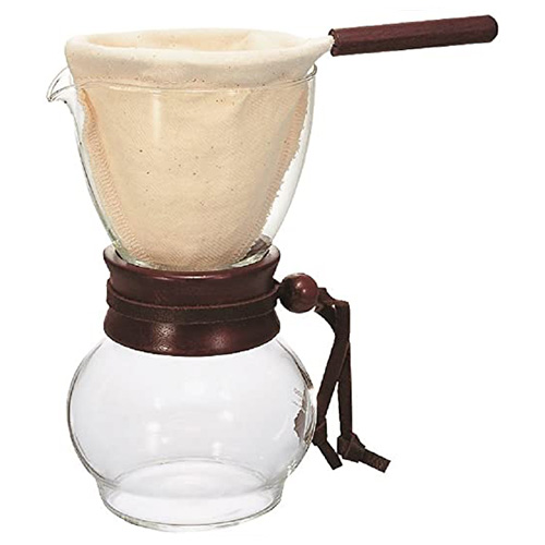 Hario Drip Pot Woodneck Hout 480ml