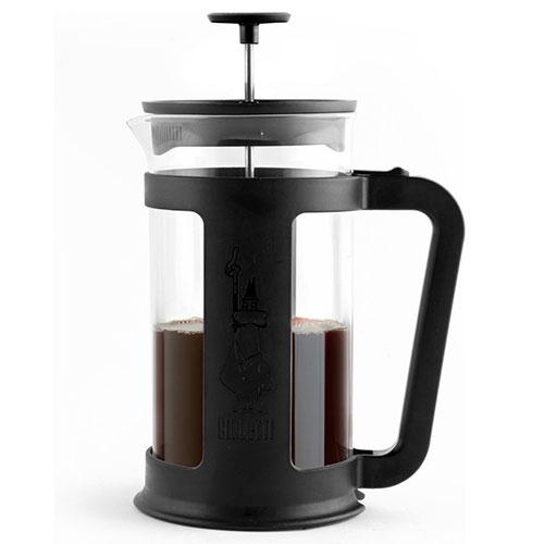 Bialetti Coffee Press Smart Zwart