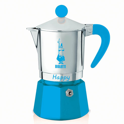 Bialetti Happy Blauw 3 kops