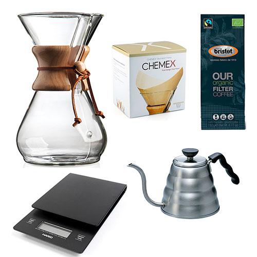 Chemex starter kit 8-Kops