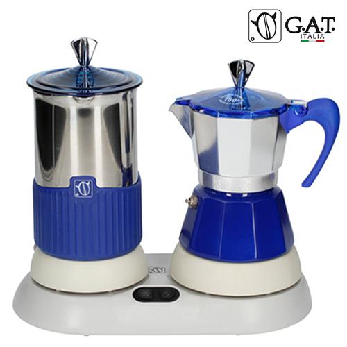 G.A.T. Italia Gatpuccino Blauw Elektrische Percolator