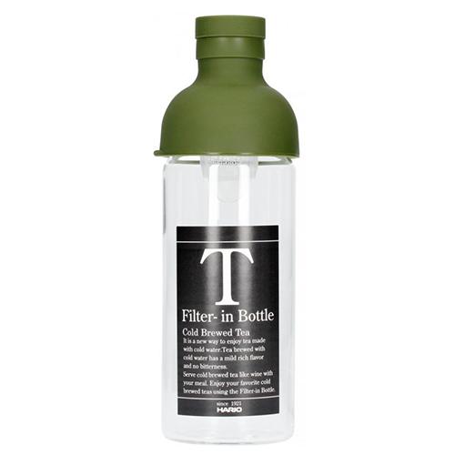 Hario Filter in Tea Bottle Groen 300ml