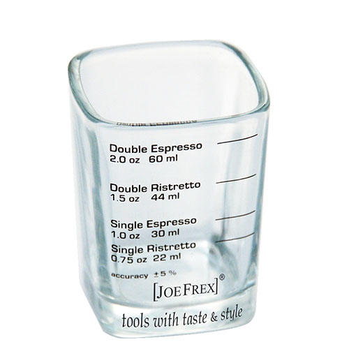JoeFrex Espresso Shotglas met Belijning