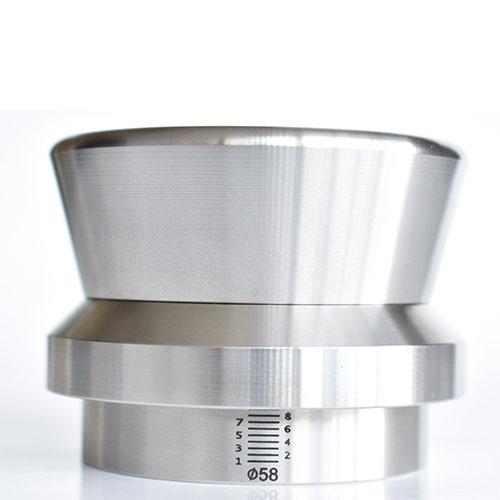 JoeFrex Level Tamper RVS 58mm 1163 gram