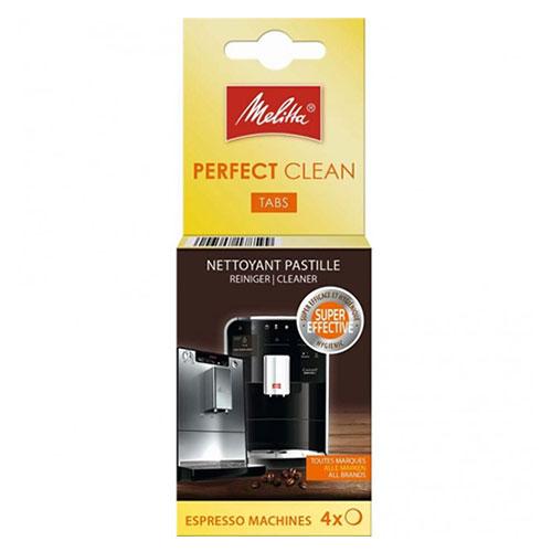 Melitta Perfect Clean reinigingstabletten 4st