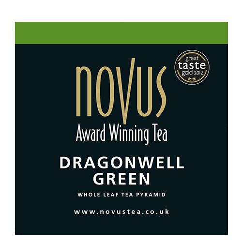 Novus Thee Dragonwell Green Piramide Theezakje