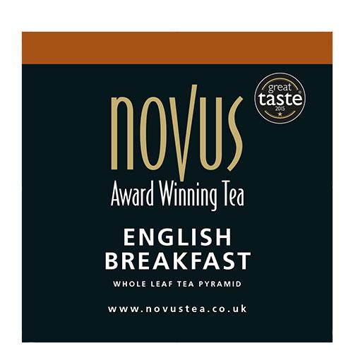 Novus Thee English Breakfast Piramide Theezakje
