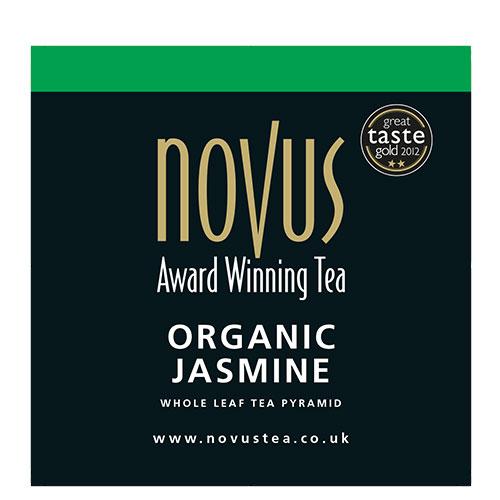 Novus Thee Organic Jasmine Green Tea Piramide Theezakje