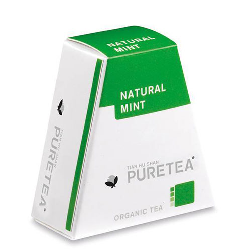 Pure Tea Natural Mint Biologische Thee 18st