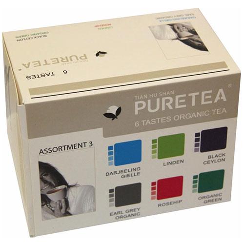 Pure Tea BIO Assortimentsverpakking C