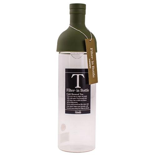 Hario Filter In Bottle Olijf Groen 750ml