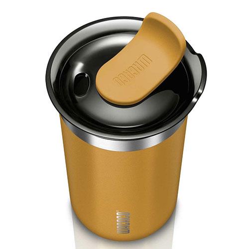 Wacaco Octaroma Lungo Amber Yellow To Go Tumbler