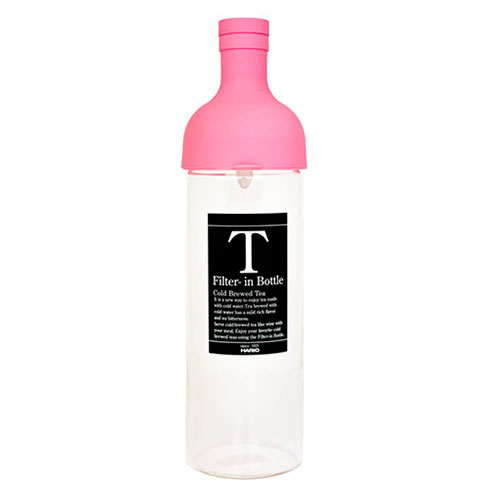 Hario Filter In Bottle Cold Brew Tea Pink - FIB-75-BP